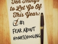 #1 Fear About Homeschooling