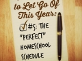 "#5 The ""Perfect"" Homeschool Schedule"