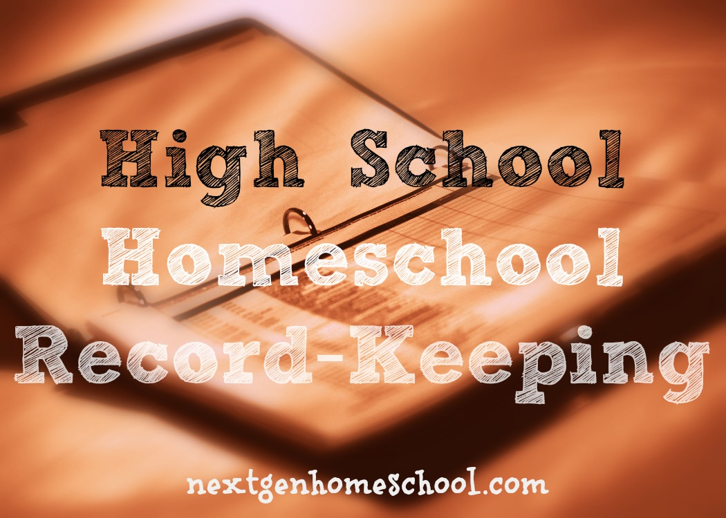 High School Homeschool Record-Keeping