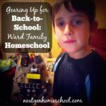 Gearing up for Back-to-School: Ward Family
