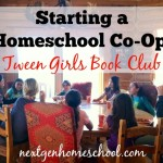 Starting a Homeschool Co-Op: Girls Book Club