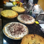 Pies, pies and more homemade pies!