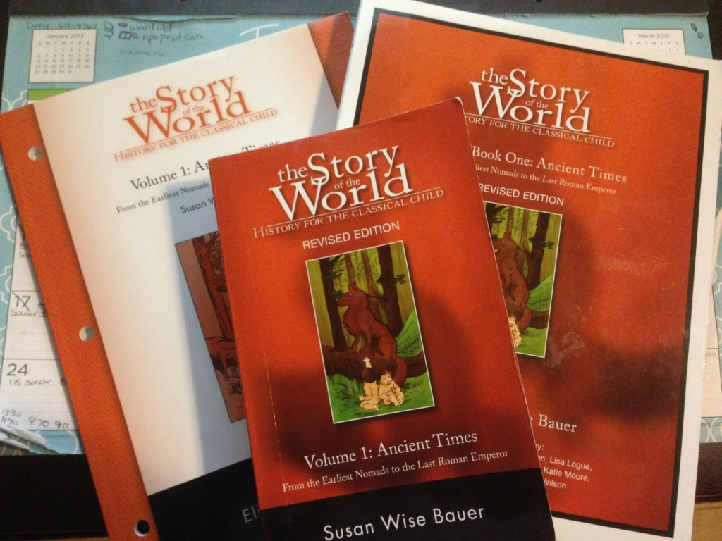 Homeschool History Curriculum The Story of the World