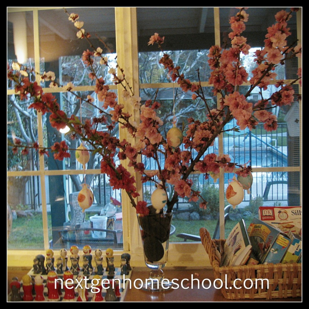 Homeschool Holiday Easter Tree