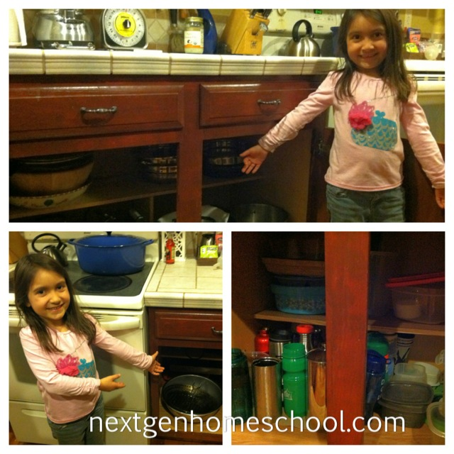 Homeschool Projects Clean Kitchen