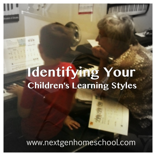 Identifying The Learning Styles Of Your Children