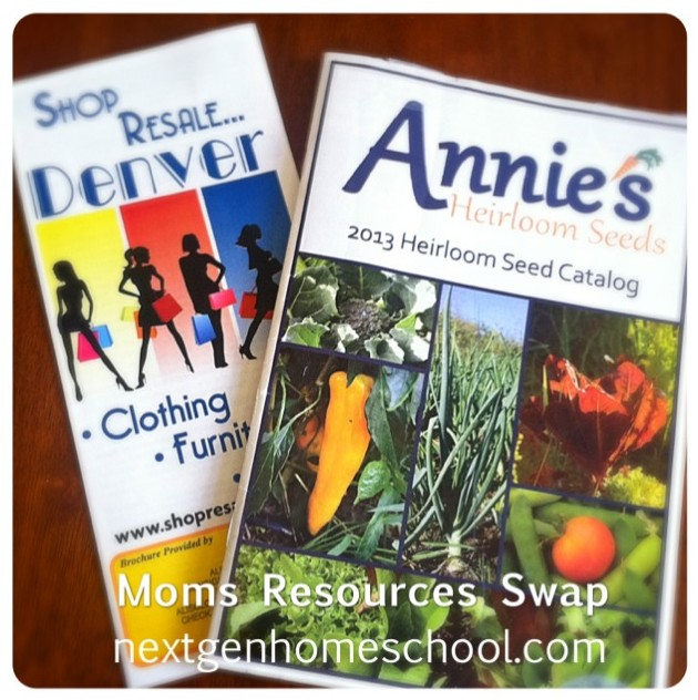 Tuesday's Tip: Host a Moms Resources Swap