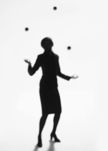 Friday Flashback: My solo parent juggling act