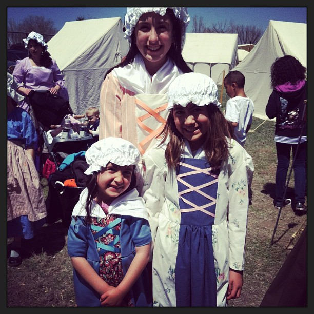 Living History Day Period Clothing