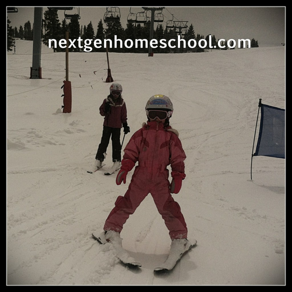 Homeschool Spring Break Skiing2