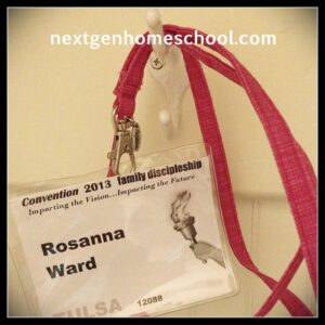 Homeschool Conventions Badge