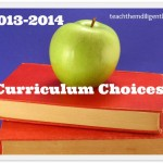 How We Make Homeschool Curriculum Choices
