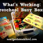 What's Working: Preschool Busy Boxes