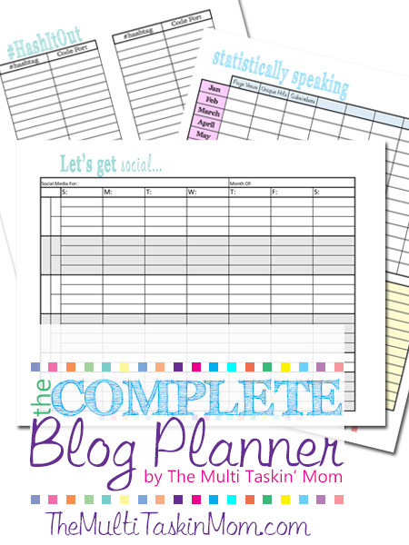Review: The Complete Blog Planner