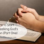Seeking God's Direction: Where do I Start?