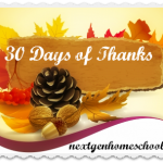 Join Us in 30 Days of Thanks This November