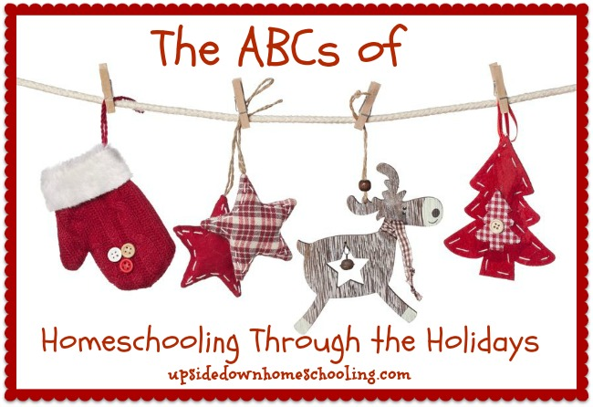 Homeschooling Through the Holidays: Engaging the Senses