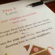 Prayer Journal for Kids Prepares for Christmas