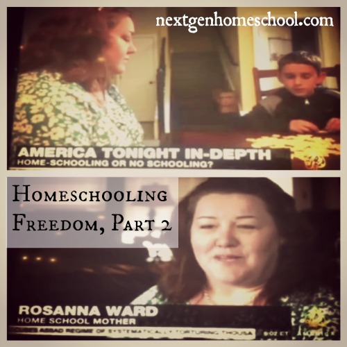 Homeschooling Freedom in Oklahoma, Part 2