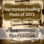 Top Homeschooling Posts of 2013: Curriculum