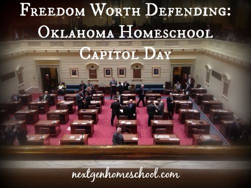 """Freedom Worth Defending"" – 29th Annual Oklahoma Homeschool Capitol Day"