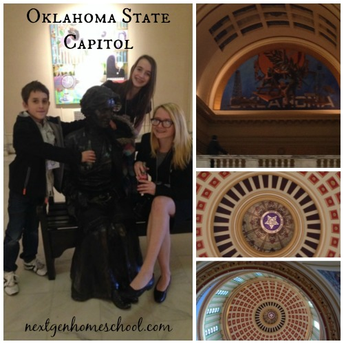 Oklahoma Homeschool Capitol Day Architecture