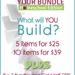 Build Your Bundle Homeschool 7-Day Sale!