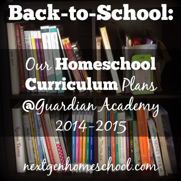 Guardian Academy Curriculum Plan, Part 1