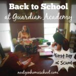 Back to School at Guardian Academy, First Day