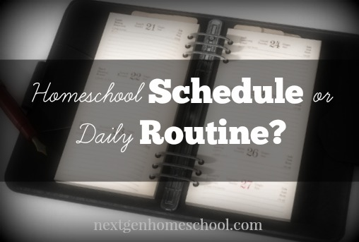 31 Days of Homeschool How-To: Daily Routine