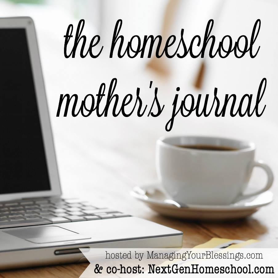 Homeschool Mother's Journal: May 2nd