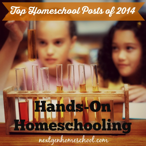 Top Homeschool Posts of 2014: Hands-On