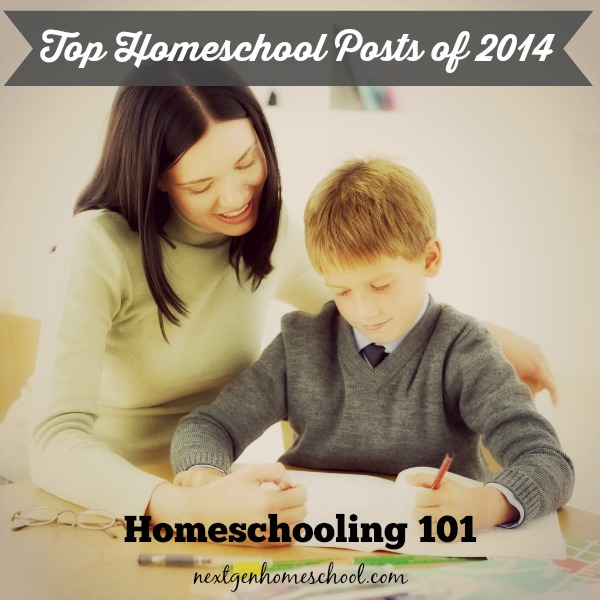 Top Homeschool Posts of 2014: Homeschool 101