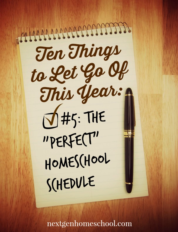 10ThingsToLetGoOf-PerfectSchedule
