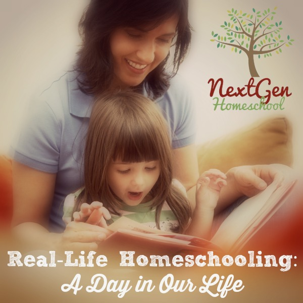 Real-Life Homeschooling: A Day in Our Life