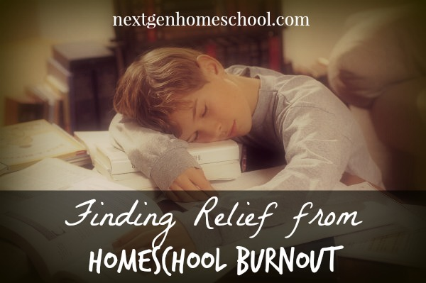 Finding Relief from Homeschool Burnout