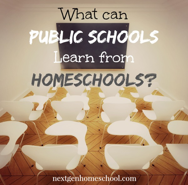 Can Public Schools Learn from Homeschools?