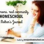 Homeschool Mother's Journal: May 7, 2016