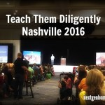 Much-Needed Vacation & Encouragement at Teach Them Diligently Nashville 2016